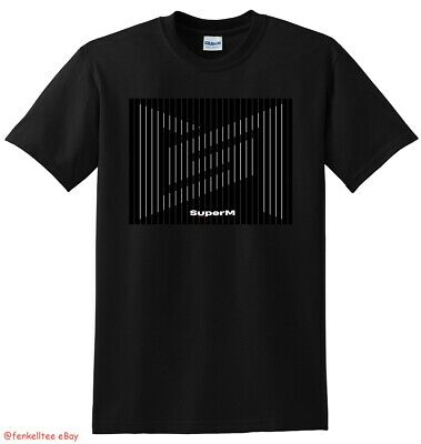 SUPERM T SHIRT superm the 1st mini album united version SMALL MEDIUM LARGE XL