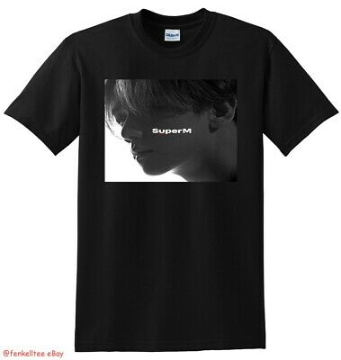 SUPERM T SHIRT superm the 1st mini album vinyl cd cover SMALL MEDIUM LARGE XL