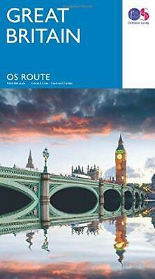 OS Route Map    Route Map, Ordnance Survey, Good Condition Book, ISBN 0319247244