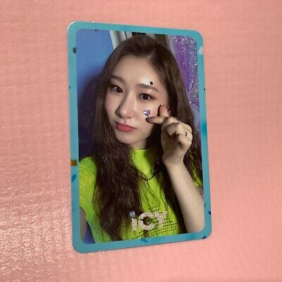ITZY CHAERYEONG Official PHOTOCARD Only 1st Mini Album IT'z ICY Photo Card #4