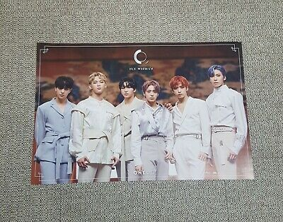 K-POP ONEUS 3rd Mini Album [FLY WITH US] C Ver. OFFICIAL POSTER -NEW-