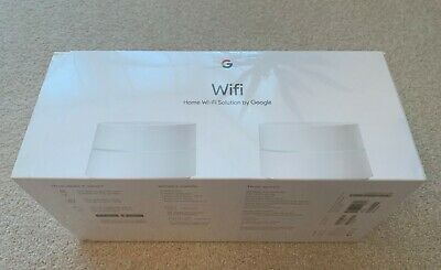 Google WiFi Whole Home System - Twin Pack - BRAND NEW UNBOXED IN PACKAGING
