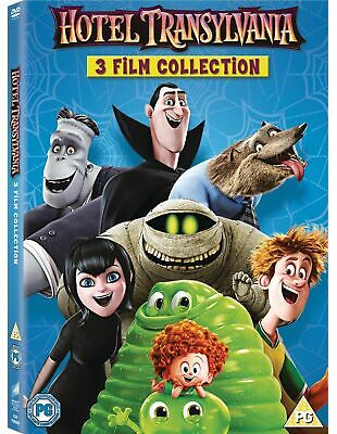 Hotel Transylvania 1 2 3 DVD Box Set Complete 1-3 Collection Trilogy **NEW**