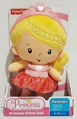 Last One!! Fisher Price Princess Mommy Princess Chime Doll Brand New