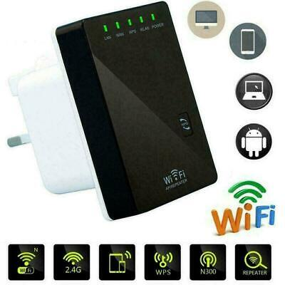 1PC 300Mbps WiFi Wireless Repeater Extender Signal Booster Home Network Rou Y2U5