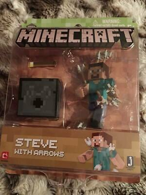 Minecraft Steve With Arrows Series 4 Figure Brand New Be the first to write a re
