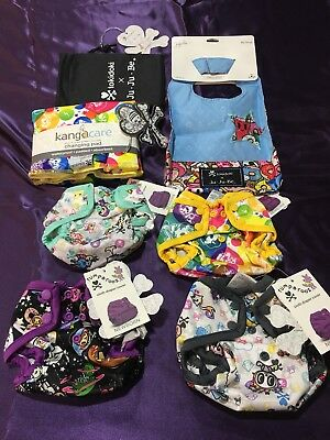 Tokidoki Kanga Care Rumparooz Nwt Newborn Diaper Cover + Changing Pad + Bib ~Htf