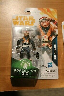 Rio Durant Force Link 2.0 MOC Star Wars Solo Movie Film Story durrant 4 arms