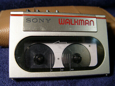 Cool Condition 1984 Sony Walkman WM-10 Fully Functioning replaced belt and rest