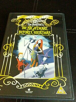 Tim Burton's The Nightmare Before Christmas Special Edition DVD