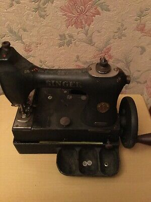 Antique Collectable Singer Button Sewing machine