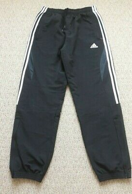 Mens Adidas Tracksuit Bottoms Pants Jogging Trousers - size small