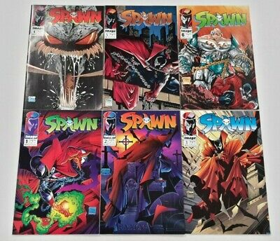 🔥SPAWN #1-12 14 BATMAN LOT**1992 IMAGE**TODD McFARLANE**NM/VF**1ST APPEARANCE!
