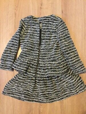 Gymboree Girl's Winter Outfit Set Coat Top And Skirt, Size 4 years