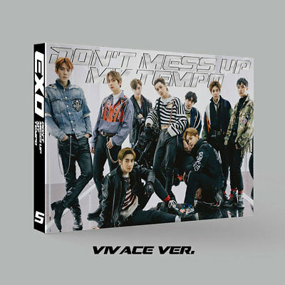 EXO 5TH ALBUM [ DON'T MESS UP MY TEMPO ] VIVACE VER + Photo Card. ~ NEW ~