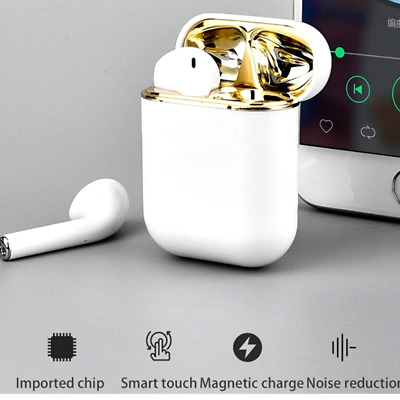 *New* TWS 2019 custom Pop-up  Bluetooth 5.0 Earphones Touch Control waterproof