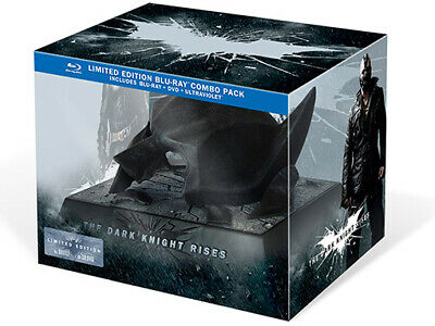 Coffret Bluray - The Dark Knight Rises - Masque Batman Collector