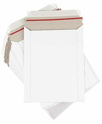 Rigid Mailers from 25 Pack Stay Flat Photo Document Mailers Self-Seal Paperboard