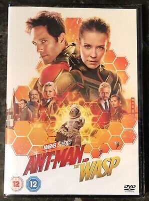 Ant Man And The Wasp Marvel Dvd Brand New & Factory Sealed Mint Condition
