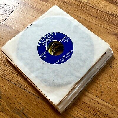 """Lot of 10x PATSY CLINE 45rpm 45s 7"""" JUKEBOX Singles~ESSENTIAL COUNTRY~Wow!"""