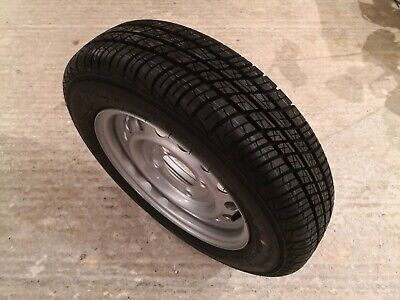Mefro 43466 101 et20 4jx13h2 trailer wheel with security 145/80/13