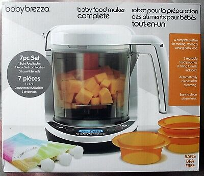Baby Brezza Food Maker Complete (3-Cup) - Brz00141