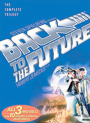 Back to the Future: Trilogy (DVD, 2002, 3-Disc Set, Widescreen) Missing Disc 1.