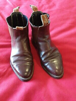 R M Williams Boots Chestnut