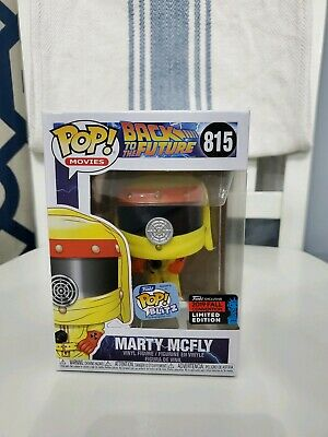 Funko POP! Movies MARTY MCFLY NYCC 2019 Funko Shop Shared Exclusive #815