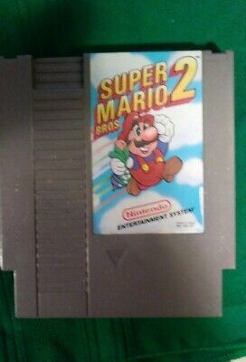 Super Mario Bros. 2 1988 NES. Rare. Game only. Collectors.