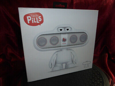 BEATS Dr Dre PILLS DUDE White Speaker Stand Holder - Used Genuine - NO SPEAKER