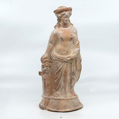 A large Hellenistic Terracotta Figure of Aphrodite, ca. 3rd Century BCE