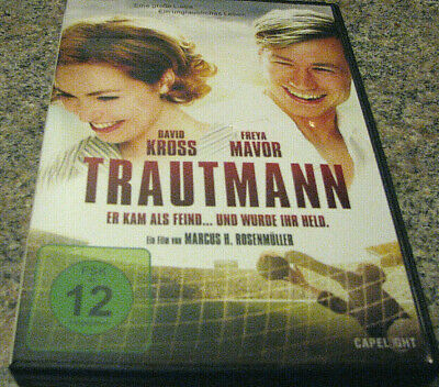 Trautmann~ The Keeper (Dvd 2019) Region Free And In Stock Now