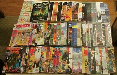 HUGE Lot of Indie Comics and Gaming Magazines RPG Collectible 80s 90s Marvel DC