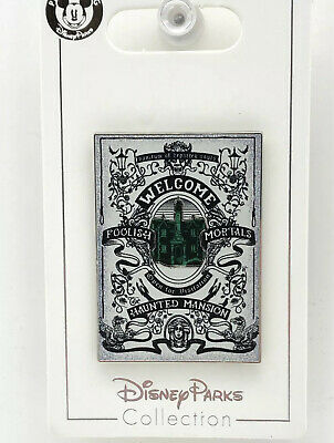 Disney Parks Trading Pin Haunted Mansion Welcome Foolish Mortals
