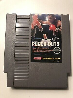 MIKE TYSON'S PUNCH-OUT!! NES - RARE!! 1ST FIRST PRINT! AUTHENTIC CART! Nintendo