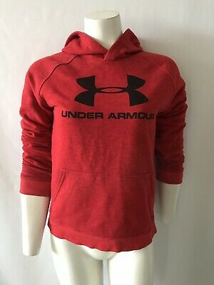 Under Armour Girls Cold Gear Hoodie Size L