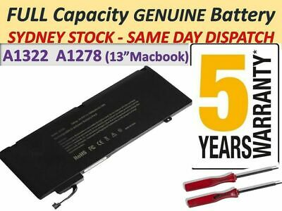 "AUSSIE A1322 Battery Apple Macbook Pro 13"" A1278 2009 2010 2011 2012 + Warranty"