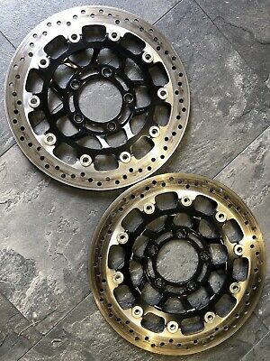 Triumph Speed Triple R 1050 Front Brake Discs & Bolts SUNSTAR 2012-2015 OEM