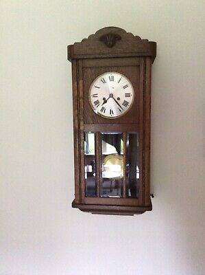 H. A. C striking  GERMAN WALL CLOCK