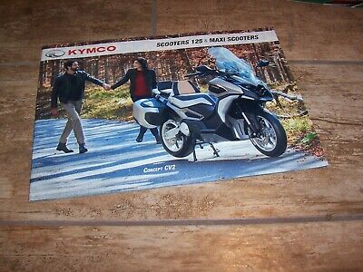 Catalogue / Brochure KYMCO Scooters 2019 //
