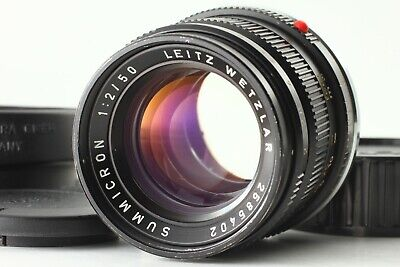 【Near Mint】 Leica Leitz Summicron M 50mm F/2 Lens Ver II For Leica M From JAPAN