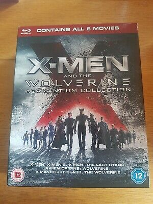X-Men And The Wolverine Adamantium Collection Blu-Ray (6 Disc Set)