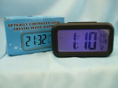BN Portable LCD Digital Alarm Clock Useful for Travel, Caravan, and Holidays