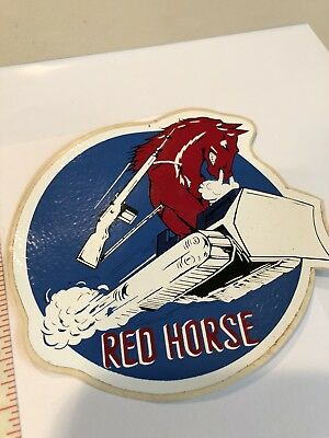 819th Red Horse Malmstrom AF Montana  Base US Air Force  Decal Stk 118