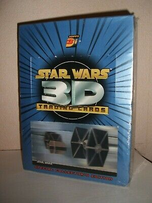 Topps Star Wars 3D Widevision Trading Cards Factory Sealed Box Rare