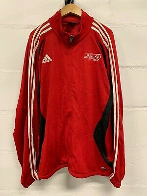 "Womens Vintage Adidas ""Girls Soccer"" Tracksuit Top Jacket Football Xl"