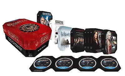 Coffret Bluray Battlestar Galactica L'Intégrale Ultime Editon Collector