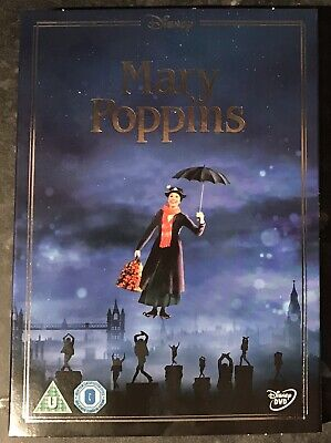 Mary Poppins Disney Dvd Ltd Edition Sleeve (Sleeve Only No Dvd) Mint Condition