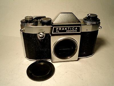 M42 PENTACON PRAKTICA PL electronic - TESTED - TOP CONDITION Rare Vintage Camera